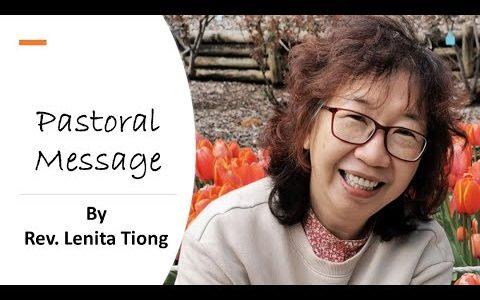 Pastoral Letters : Rev. Lenita
