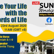 23/08/2020 – Shape Your Life with the Words of Life